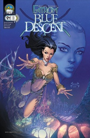 Fathom Blue Descent # 0 Cover B Benitez