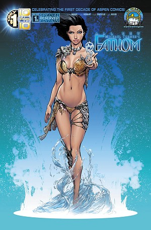 All New Fathom # 1 Cover B