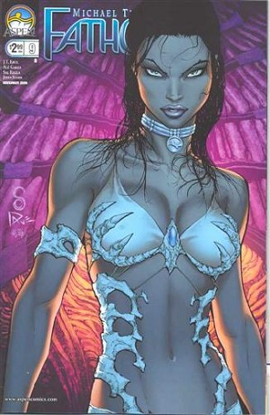 Fathom Vol 3 # 9 Clark Cover