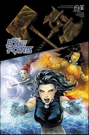 The Four Points # 2 Cover C