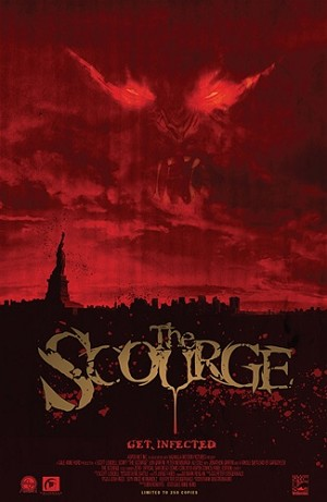 Scourge # 0 SDCC 2010 Movie Poster Variant
