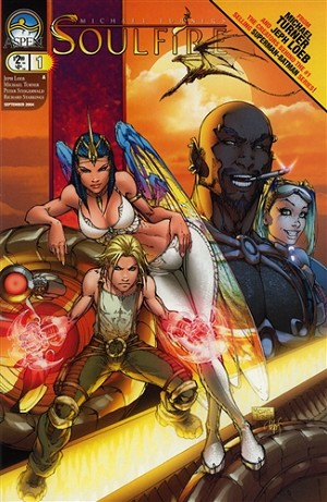Soulfire # 1 Cover A Signed by Turner and Steigerwald