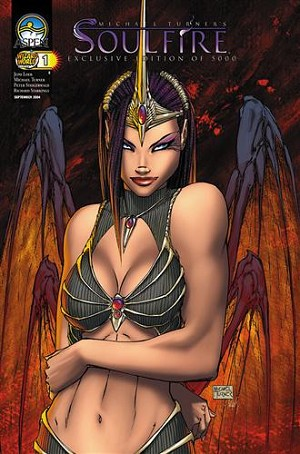 Soulfire # 1 Wizard World Chicago Cover - VF