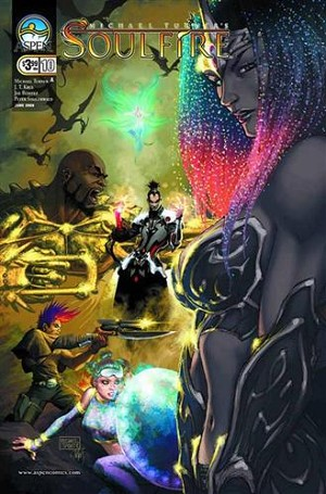 Soulfire # 10 Cover A Turner