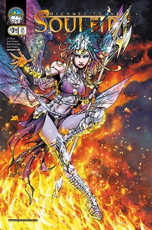 Soulfire Vol 3 # 5 Cover B
