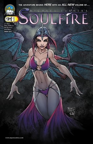 Soulfire Vol 4 # 1 Cover B Turner