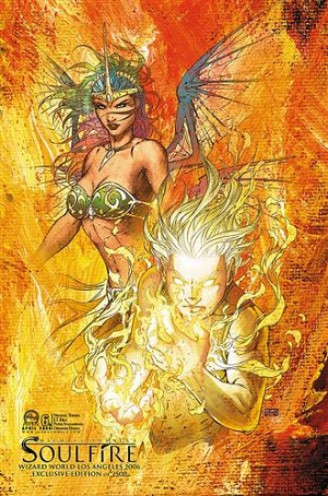 Soulfire # 6 WWLA Exclusive Cover VF-NM