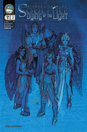 Soulfire Dying of the Light # 3 - Signed by Michael Turner