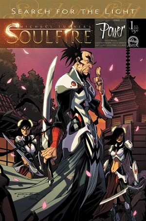Soulfire Power # 1 Cover B Randolph