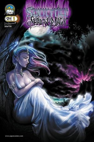 Soulfire Shadow Magic # 1 Cover A Takeda