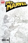 MS MARVEL #1 Turner Sketch Variant