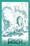 Fathom Vol 4 # 3 Cover C Konat Sketch