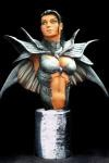 Fathom Mini Bust Aspen Matthews Black Armor - Signed by Michael Turner