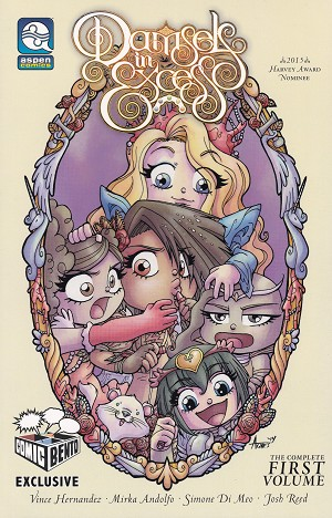 Damsels in Excess Comic Bento Exclusive Vol 1 TPB