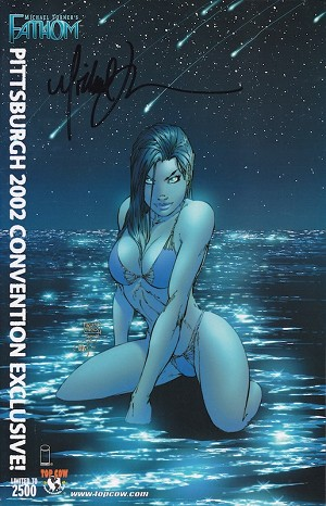 Fathom #14 Pittsburgh ComiCon 2002 Variant - Signed by Michael Turner
