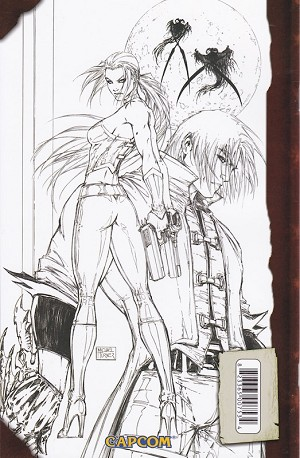 Devil May Cry #1 Turner Sketch Variant