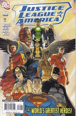 Justice League of America #12 Turner Variant