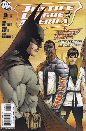 Justice League of America # 8 Turner