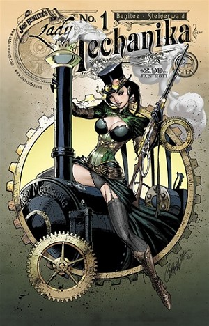 Lady Mechanika # 1 Cover B
