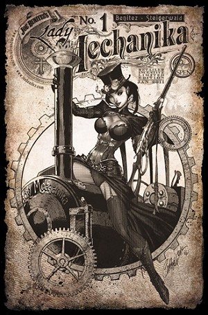 Lady Mechanika # 1 Retailer Incentive Cover D