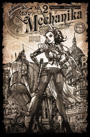 Lady Mechanika # 2 Retailer Incentive Cover D