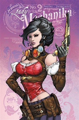 Lady Mechanika # 2 Comic Central Exclusive