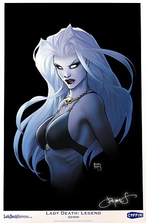 Lady Death Turner Limited Print