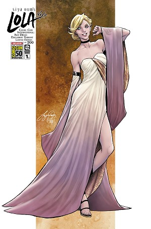 Lola XOXO Vol 3 # 1 Siya Oum SDCC Exclusive - VF