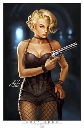 Aspen Comics Black Friday 2014 Lola XOXO Print