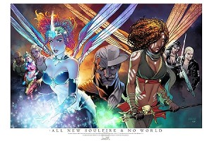 All New Soulfire & No World Planet Comicon 2017 Exclusive Print