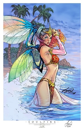 Soulfire Vol 7 # 2 Amazing Comic Con Aloha Limited Print