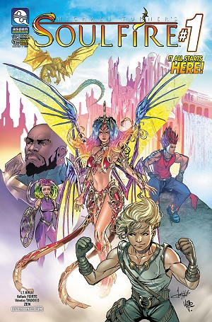 Soulfire Vol 8 # 1 Cover A