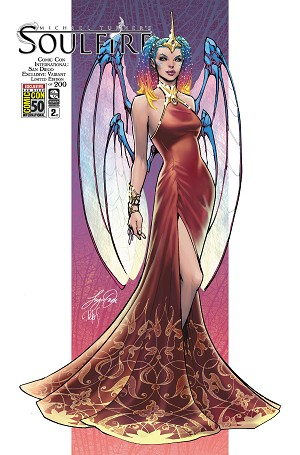 Soulfire Vol 8 # 2 Siya Oum SDCC Exclusive