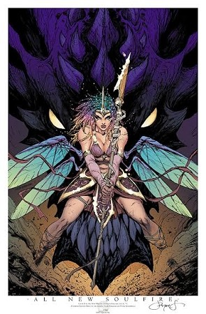 All New Soulfire # 1 Cover B 2017 Limited Print