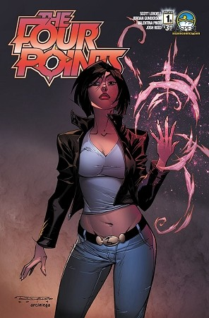 The Four Points # 1 Cover B