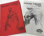 2007 Michael Turner Canadian National Expo OP Edition Sketchbook Set of 2