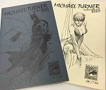 2007 Michael Turner SDCC OP/25 Edition Sketchbook Set of 2