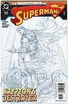 Adventures of Superman #625 Godfall Part 2 of 6 Turner Sketch Variant
