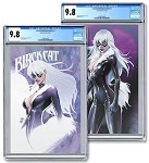 Black Cat #2 Turner Exclusive Set of 2 CGC 9.8
