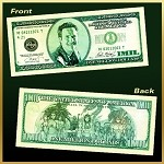 Michael Turner Million Dollar Bill