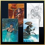Michael Turner Creations Post Card Set