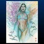 Michael Turner Creations David Mack Dust Jacket Art 9x12 Print