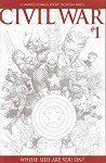 Civil War #1 Turner Sketch Variant