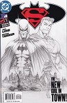 Superman Batman # 8  Sketch Variant