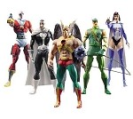 Identity Crisis Action Figures Series 1 Set of 5 Inner Case