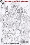 Justice League of America # 1 Turner Sketch Variant