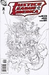 Justice League of America # 2 Turner Sketch Variant