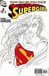 Supergirl # 1 Turner Sketch Variant