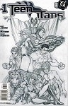 Teen Titans #1 Turner Sketch Variant