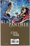 Black Panther #25 Turner Civil War